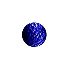 Blue Ripple 1  Mini Buttons by vwdigitalpainting