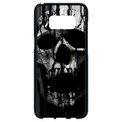 Black And Grey Nightmare Samsung Galaxy S8 Black Seamless Case by vwdigitalpainting