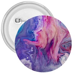 Marbled,ultraviolet,violet,purple,pink,blue,white,stone,marble,modern,trendy,beautiful 3  Buttons by 8fugoso
