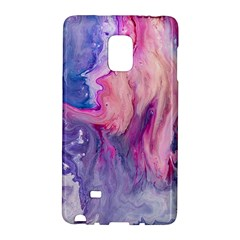 Marbled,ultraviolet,violet,purple,pink,blue,white,stone,marble,modern,trendy,beautiful Galaxy Note Edge by 8fugoso