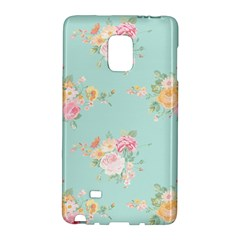 Mint,shabby Chic,floral,pink,vintage,girly,cute Galaxy Note Edge by 8fugoso