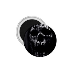 Black And Grey Nightmare 1 75  Magnets by vwdigitalpainting