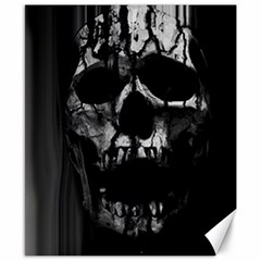 Black And Grey Nightmare Canvas 8  X 10  by vwdigitalpainting
