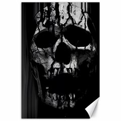 Black And Grey Nightmare Canvas 24  X 36  by vwdigitalpainting