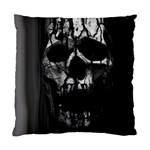 Black And Grey Nightmare Standard Cushion Case (Two Sides) Front
