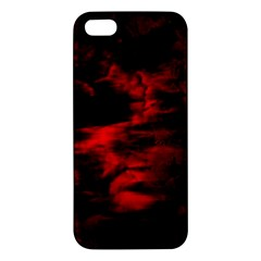 Anxiety Apple Iphone 5 Premium Hardshell Case by vwdigitalpainting