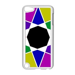 Compass Abstract Apple Ipod Touch 5 Case (white) by vwdigitalpainting