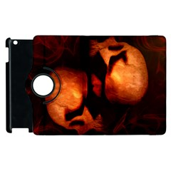 Of Two Minds Apple Ipad 3/4 Flip 360 Case by vwdigitalpainting