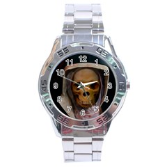 Save My Soul Stainless Steel Analogue Watch by vwdigitalpainting