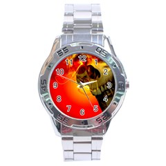 Flare Stainless Steel Analogue Watch by vwdigitalpainting