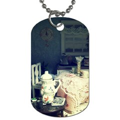 Abandonded Dollhouse Dog Tag (one Side)