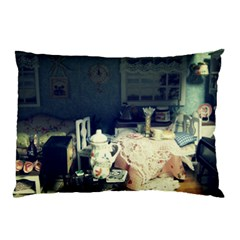 Abandonded Dollhouse Pillow Case