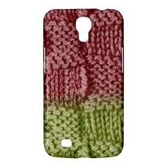 Knitted Wool Square Pink Green Samsung Galaxy Mega 6 3  I9200 Hardshell Case by snowwhitegirl
