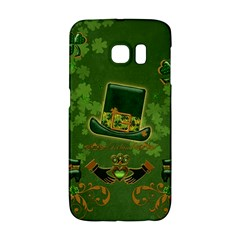 Happy St  Patrick s Day With Clover Galaxy S6 Edge by FantasyWorld7