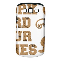 Work Hard Your Bones Samsung Galaxy S Iii Classic Hardshell Case (pc+silicone) by Melcu