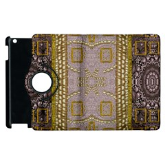 Gothic In Modern Stars And Pearls Apple Ipad 2 Flip 360 Case by pepitasart