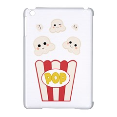 Cute Kawaii Popcorn Apple Ipad Mini Hardshell Case (compatible With Smart Cover) by Valentinaart