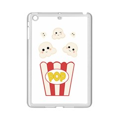Cute Kawaii Popcorn Ipad Mini 2 Enamel Coated Cases by Valentinaart