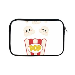Cute Kawaii Popcorn Apple Ipad Mini Zipper Cases by Valentinaart