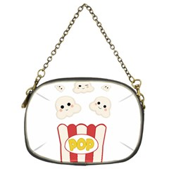 Cute Kawaii Popcorn Chain Purses (two Sides)  by Valentinaart