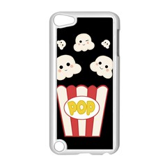 Cute Kawaii Popcorn Apple Ipod Touch 5 Case (white) by Valentinaart