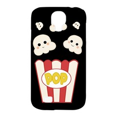 Cute Kawaii Popcorn Samsung Galaxy S4 Classic Hardshell Case (pc+silicone) by Valentinaart