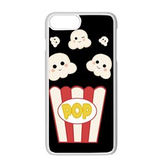 Cute Kawaii Popcorn Apple Iphone 7 Plus Seamless Case (white) by Valentinaart