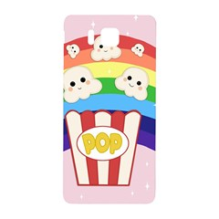 Cute Kawaii Popcorn Samsung Galaxy Alpha Hardshell Back Case by Valentinaart