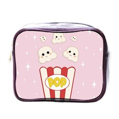 Cute Kawaii Popcorn Mini Toiletries Bags