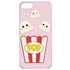 Cute Kawaii Popcorn Apple Iphone 5 Classic Hardshell Case by Valentinaart