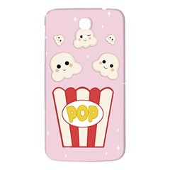 Cute Kawaii Popcorn Samsung Galaxy Mega I9200 Hardshell Back Case by Valentinaart