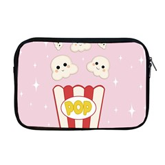 Cute Kawaii Popcorn Apple Macbook Pro 17  Zipper Case