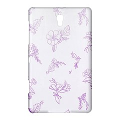 Beautiful,violet,floral,shabby Chic,pattern Samsung Galaxy Tab S (8 4 ) Hardshell Case  by 8fugoso