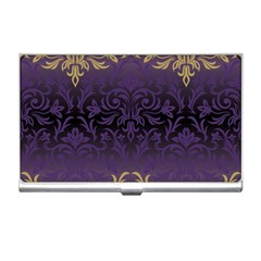 Art Nouveau,vintage,damask,gold,purple,antique,beautiful Business Card Holders by 8fugoso