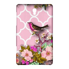 Shabby Chic, Floral,pink,birds,cute,whimsical Samsung Galaxy Tab S (8 4 ) Hardshell Case  by 8fugoso
