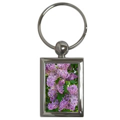 Lilacs 2 Key Chains (rectangle)  by dawnsiegler