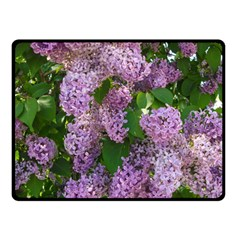 Lilacs 2 Fleece Blanket (small) by dawnsiegler