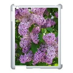 Lilacs 2 Apple Ipad 3/4 Case (white) by dawnsiegler