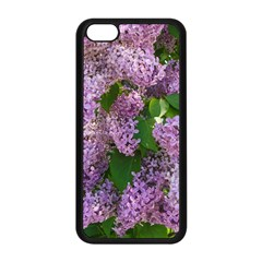Lilacs 2 Apple Iphone 5c Seamless Case (black) by dawnsiegler