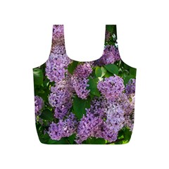 Lilacs 2 Full Print Recycle Bags (s)  by dawnsiegler