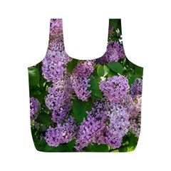 Lilacs 2 Full Print Recycle Bags (m)  by dawnsiegler
