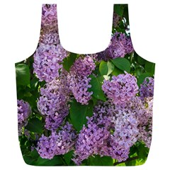 Lilacs 2 Full Print Recycle Bags (l)  by dawnsiegler