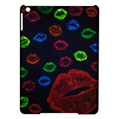 Hot Lips Ipad Air Hardshell Cases by dawnsiegler