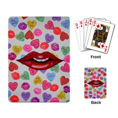 Aahhhh Candy Playing Card by dawnsiegler