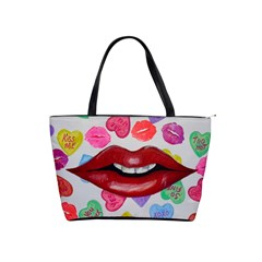 Aahhhh Candy Shoulder Handbags by dawnsiegler