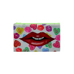 Aahhhh Candy Cosmetic Bag (xs) by dawnsiegler