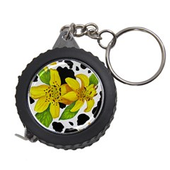 Floral Cow Print Measuring Tape