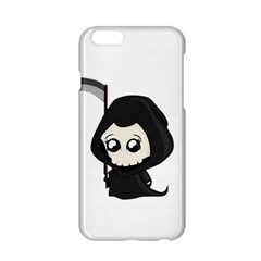 Cute Grim Reaper Apple Iphone 6/6s Hardshell Case by Valentinaart