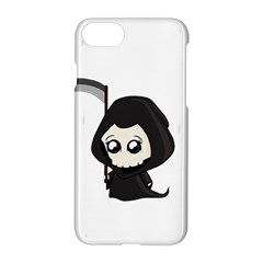 Cute Grim Reaper Apple Iphone 7 Hardshell Case by Valentinaart