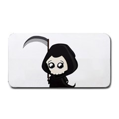 Cute Grim Reaper Medium Bar Mats by Valentinaart